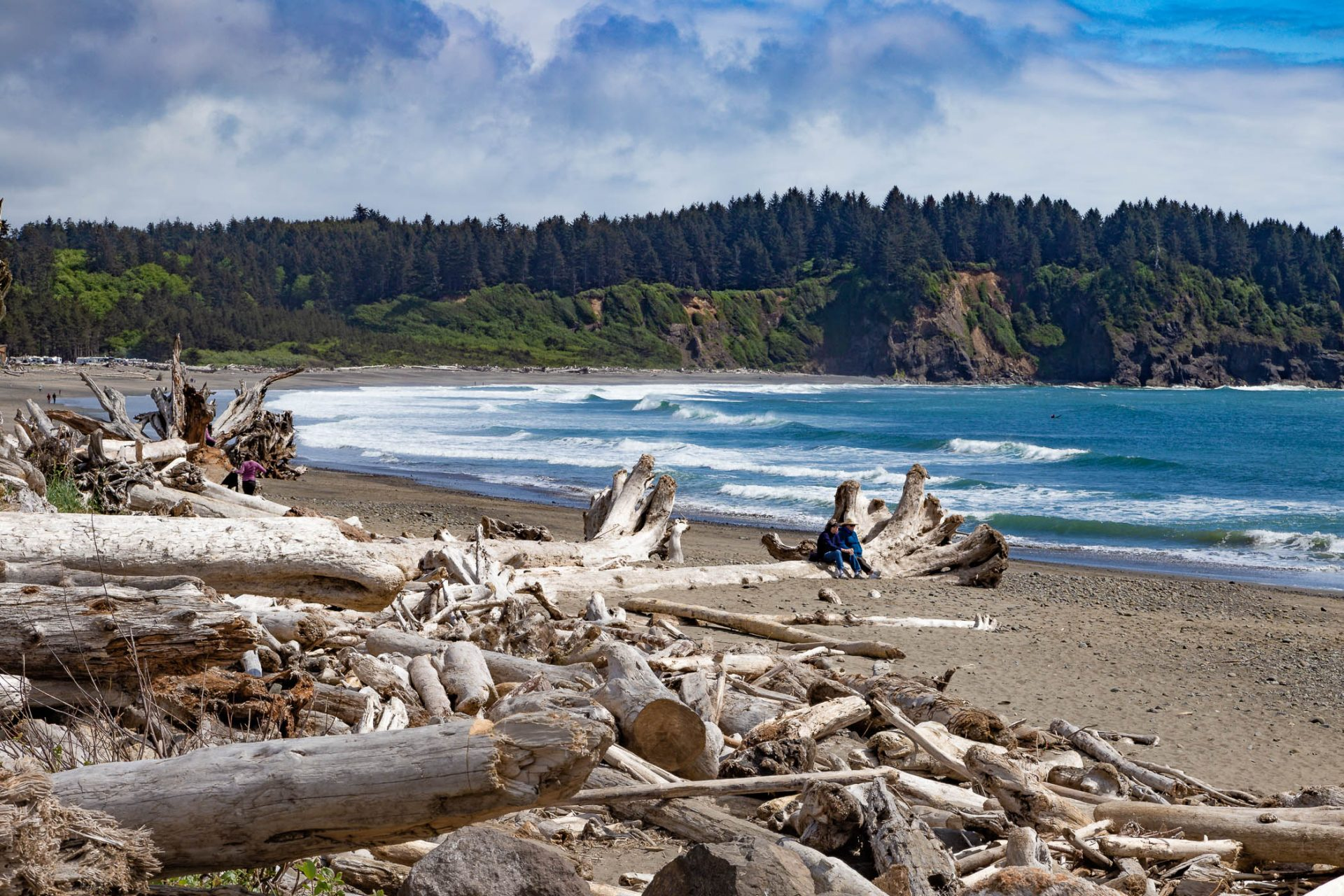 La Push Beach bei Forks