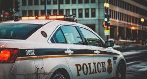 Polizeiauto in den USA